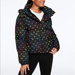 Vs pink puffer jacket